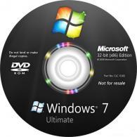 Windows Ultimate 7, 32-bit, English