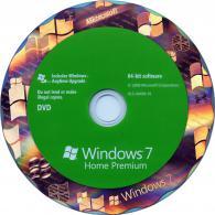 Windows Home Premium 7, 64-bit, English