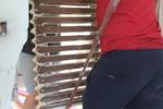 преместване на чугунени радиатори от хамали